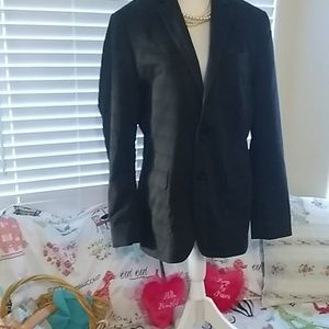 Express fully lined black jacket